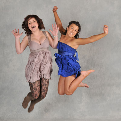 jump if you are having fun at your Prom