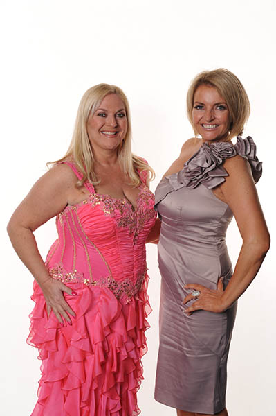 OK magazine aution winner with Vaneesa Feltz