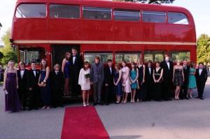 Big Red Bus at Kingston Maurward