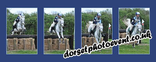 equestrian montage - Dorset equestrian photography
