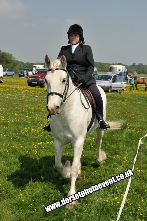 Ridden Showing - well done bluebell