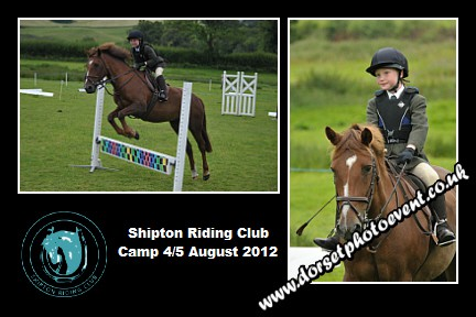 Equestrian Montage Shipton Riding Club Summer Camp