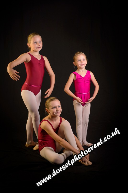 Family Ballet Portrait
