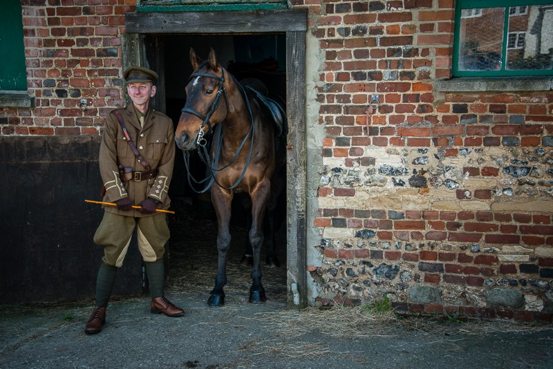 Re-enactment and Living History Photography